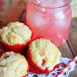 Strawberry Lemonade Muffins.