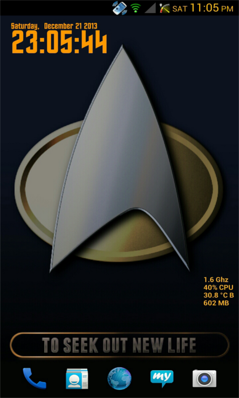 Star Trek Multicolor Live 3D - screenshot