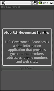 US Federal Government Branches- screenshot thumbnail