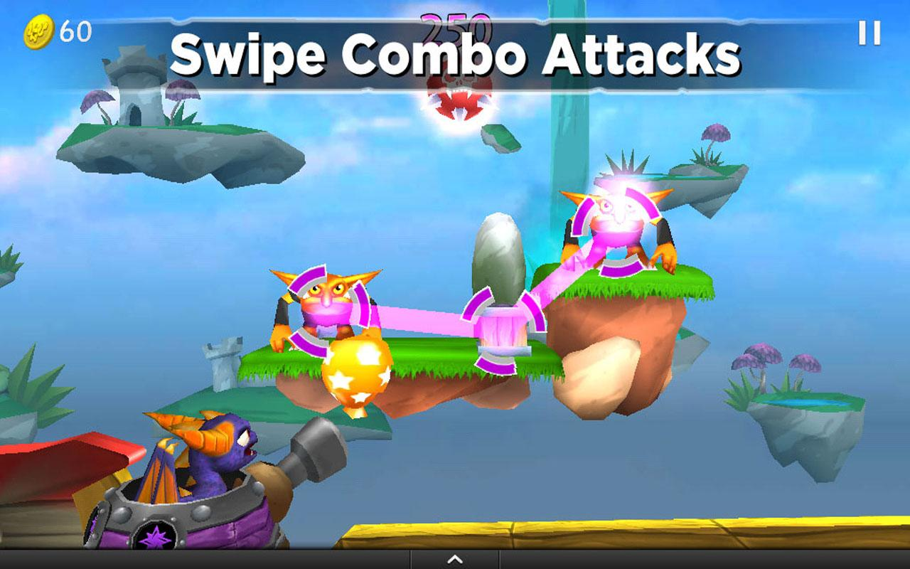 Skylanders Cloud Patrol- screenshot