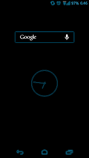 Blue Glow CM11 AOKP Theme- screenshot thumbnail