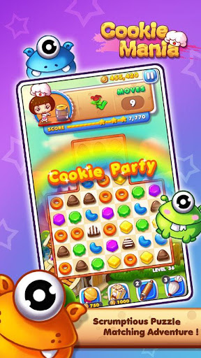 Cookie Mania - Match-3 Sweet Game 2.2.2 1