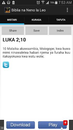 Download Biblia Takatifu Ya Kiswahili Apk Latest Version 1 6 For Android Devices