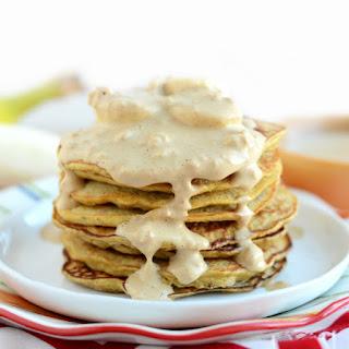 3-Ingredient Peanut Butter Pancakes.