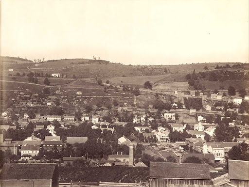Honesdale, Pennsylvania (Section 3 of panorama)