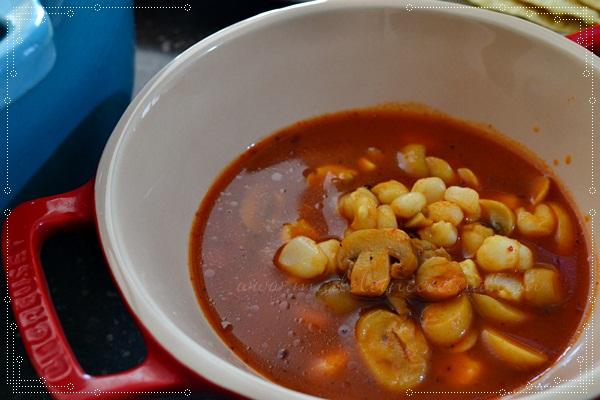 Mushroom Pozole Recipe
