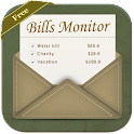 Bills Monitor & Manager Free icon