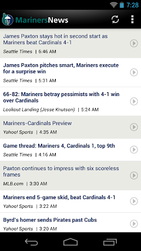 Seattle Baseball News for PC