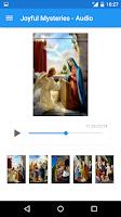 Screenshot of Rosary Audio