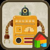 Vintage Robot Dodol Theme
