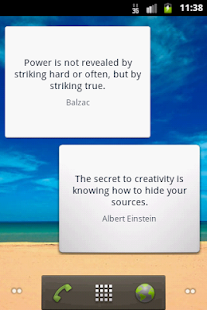 Smart Quotes Widget- screenshot thumbnail
