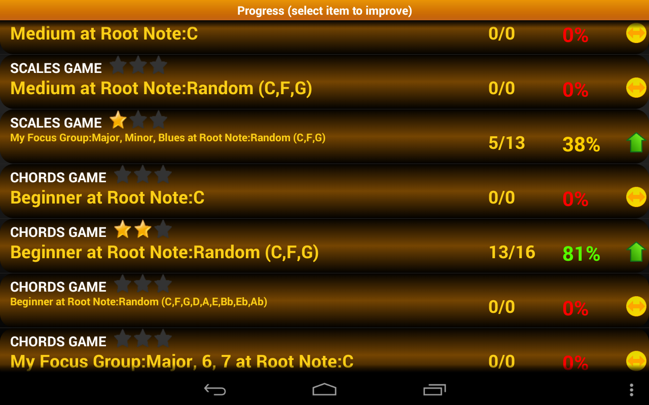 Piano scales chords pro android apps on google play piano scales chords pro screenshot hexwebz Choice Image