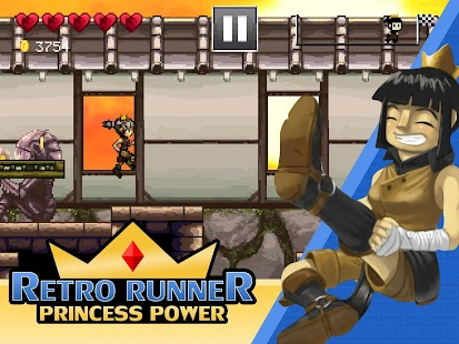 Retro Runner: Princess Power- screenshot thumbnail
