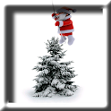 Animated Flying Santa LWP logo