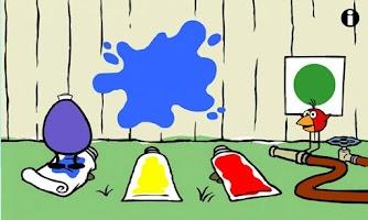 Screenshot of PEEP Paint Splat