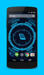 Holo Droid Free - best device info live wallpaper- screenshot thumbnail