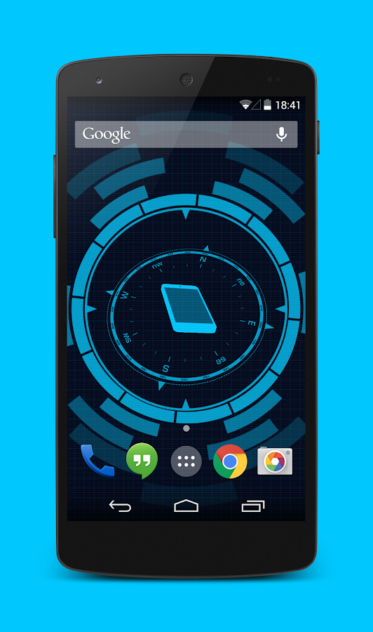 compass live wallpaper for android