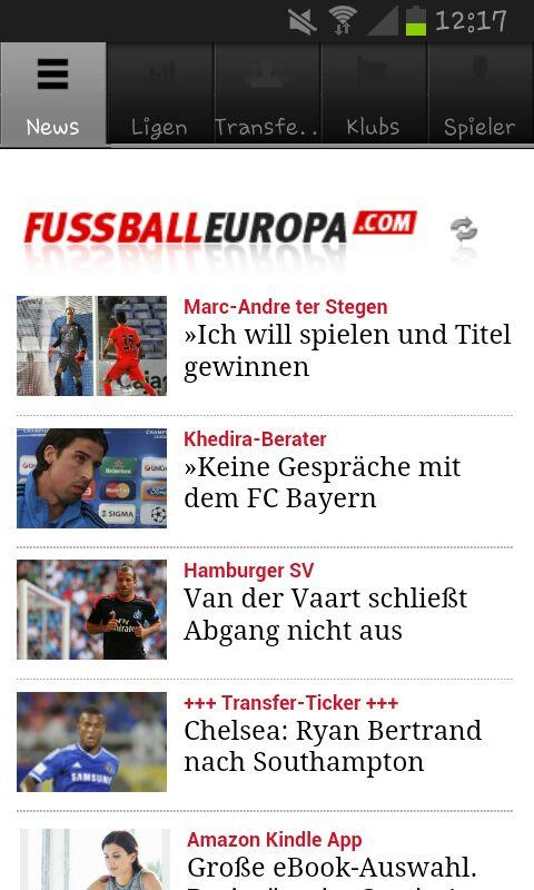 Fussball Europa - screenshot