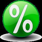 Percentage Calculator % icon