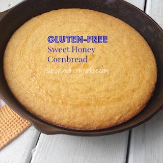 Gluten Free Sweet Honey Cornbread.