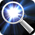 Light Magnifying Glass icon