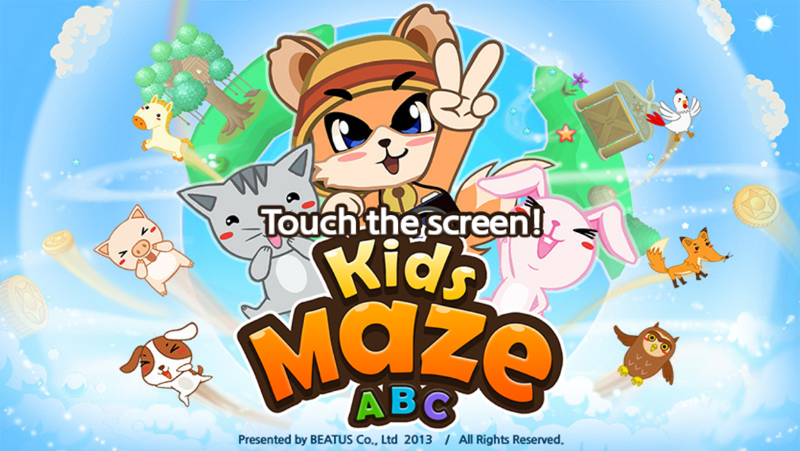 Kids Maze ABC - screenshot