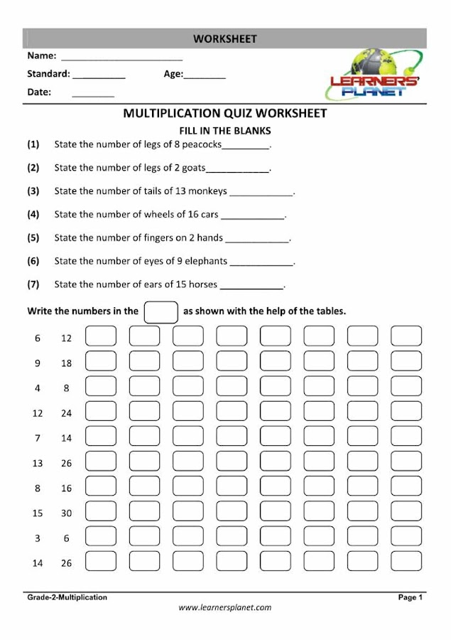Grade2MathsMental Math3 Android Apps on Google Play – Grade 4 Mental Math Worksheets