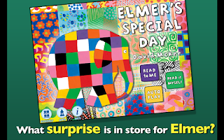 Screenshot of Elmer's Special Day