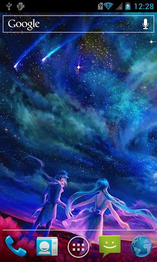 玩免費個人化APP|下載Love under the stars LWP app不用錢|硬是要APP