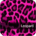 Cute! Pink Leopard WallPaper4 logo