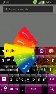 Color Evolution Keyboard - screenshot thumbnail