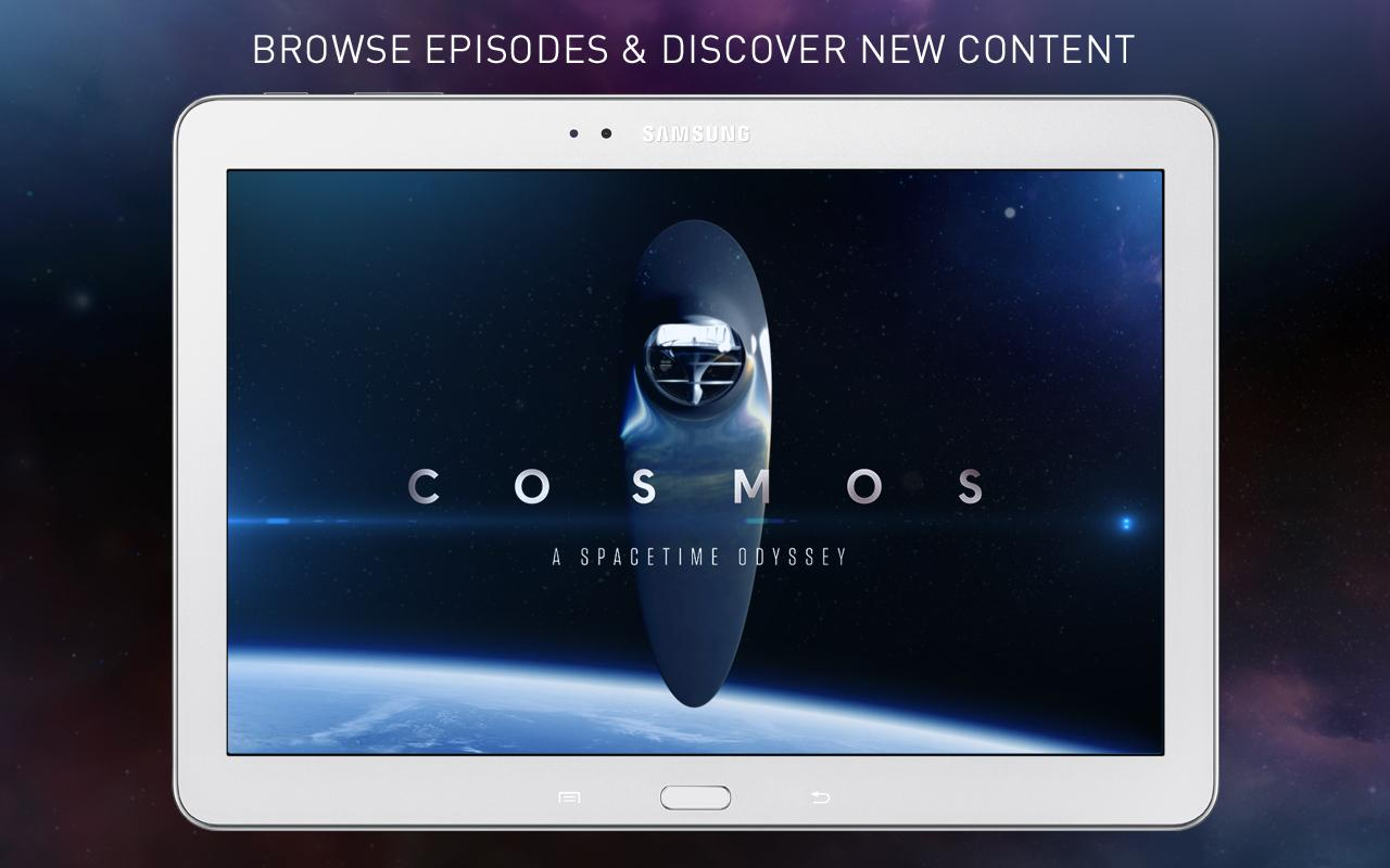 COSMOS: A Spacetime Odyssey- screenshot