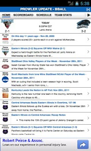 EIU Football & Basketball - screenshot thumbnail