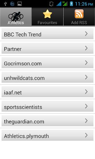 【免費新聞App】Athletics hub-APP點子