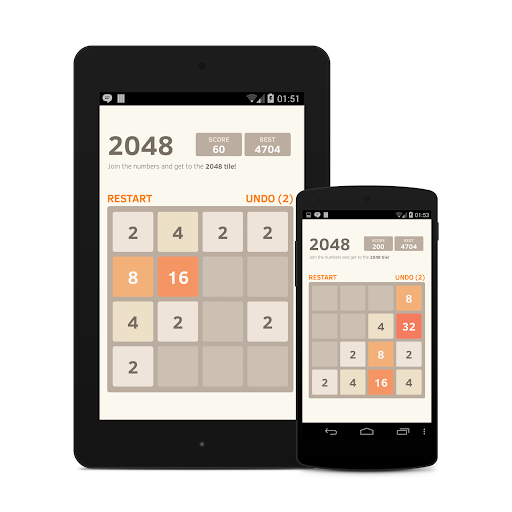 2048 Number puzzle game 7.05 screenshots 9