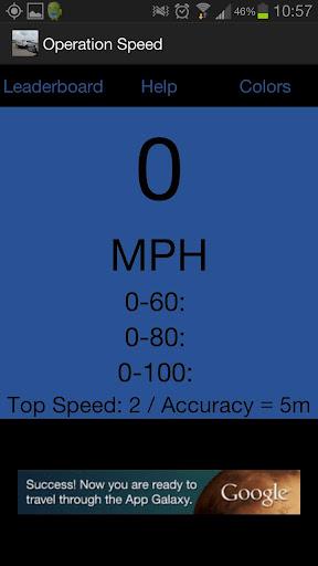 Operation: Speed