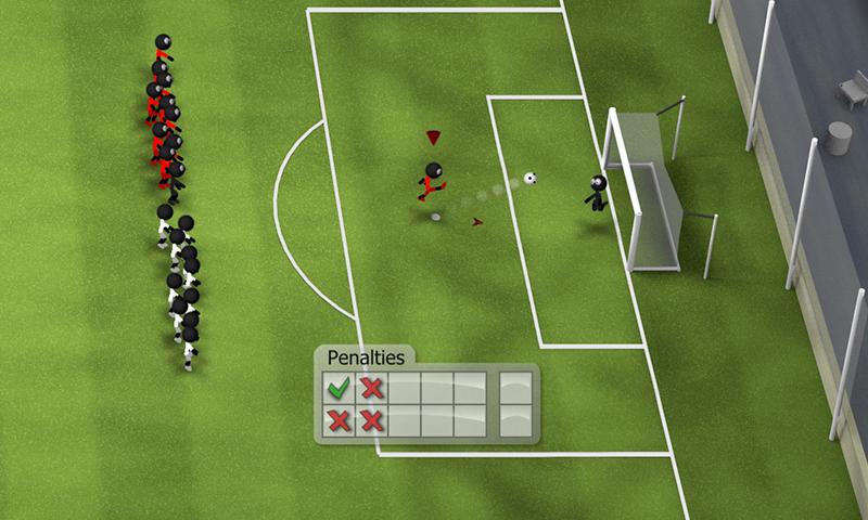 Stickman Soccer 2014 screenshot #14