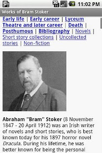Works of Bram Stoker- screenshot thumbnail