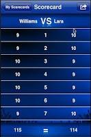 Screenshot of Boxing Scorecard