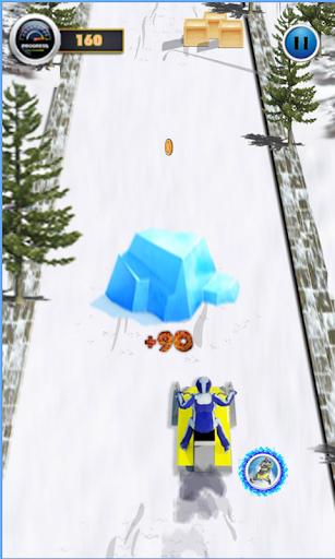雪摩托賽車高清
