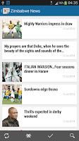 Screenshot of Zimbabwe News | Newspapers