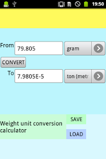 Weight Conversion- screenshot thumbnail