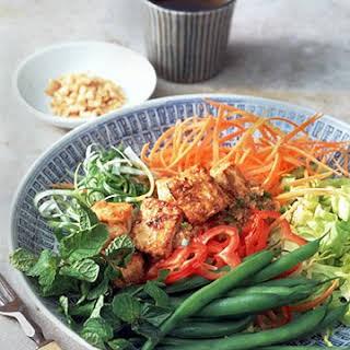Cambodian Style Tofu Salad.