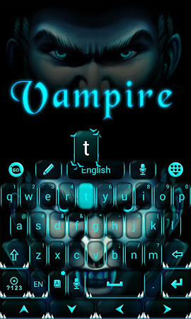 Vampire GO Keyboard Theme 3.87 screenshot 640269
