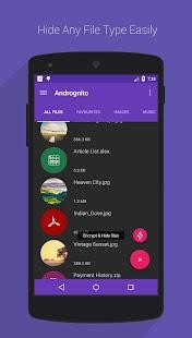 Andrognito 2 - Hide Files - screenshot thumbnail