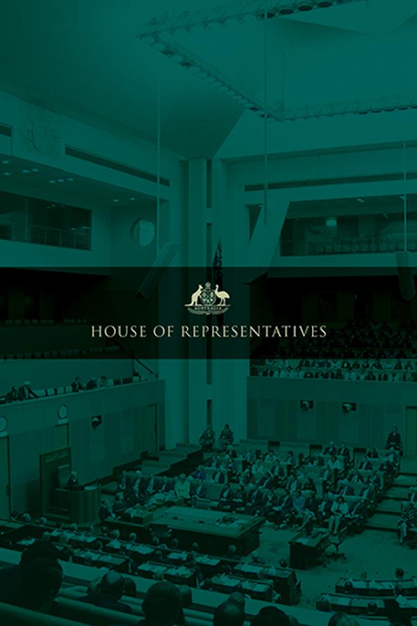 Australia's House of Reps - screenshot