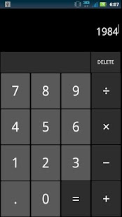 Jelly Bean Calculator- screenshot thumbnail