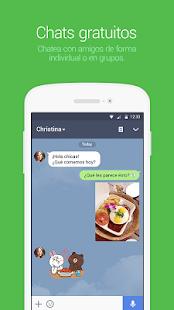 LINE: Llama y mensajea gratis - screenshot thumbnail