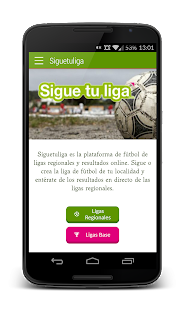 Sigue Tu Liga- screenshot thumbnail