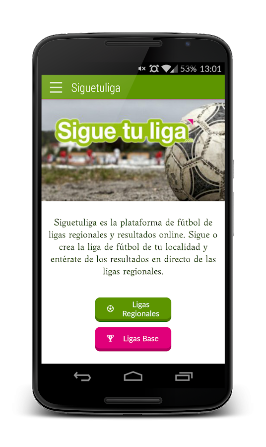 Sigue Tu Liga- screenshot
